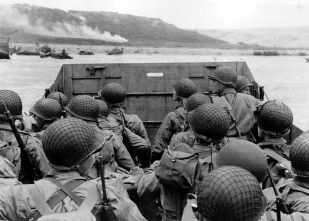 Omaha Beach D-Day Normandy Invasion