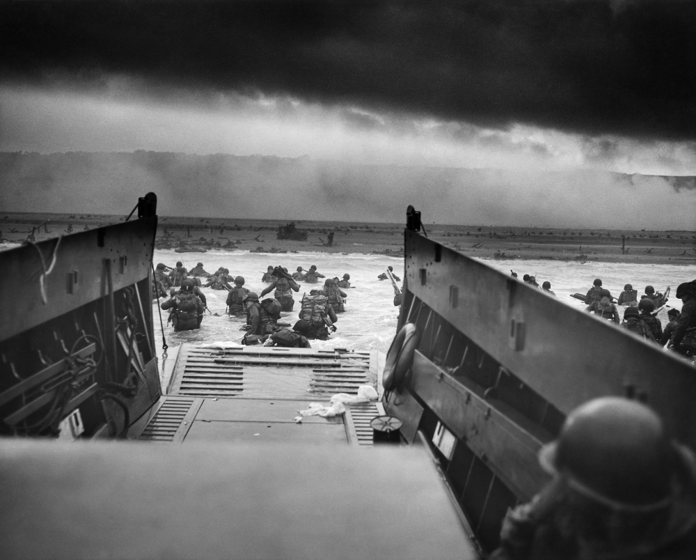D-Day WWII Omaha Beach