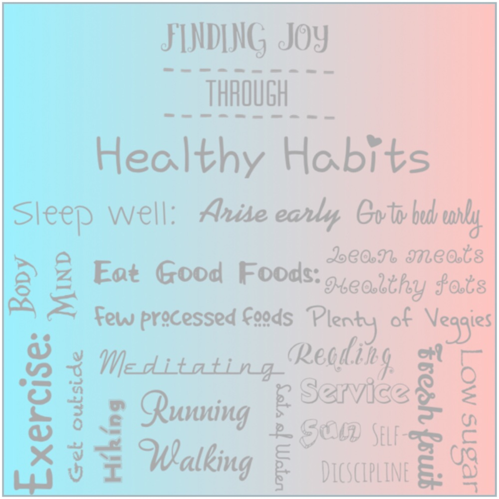 finding joy healthy habits
