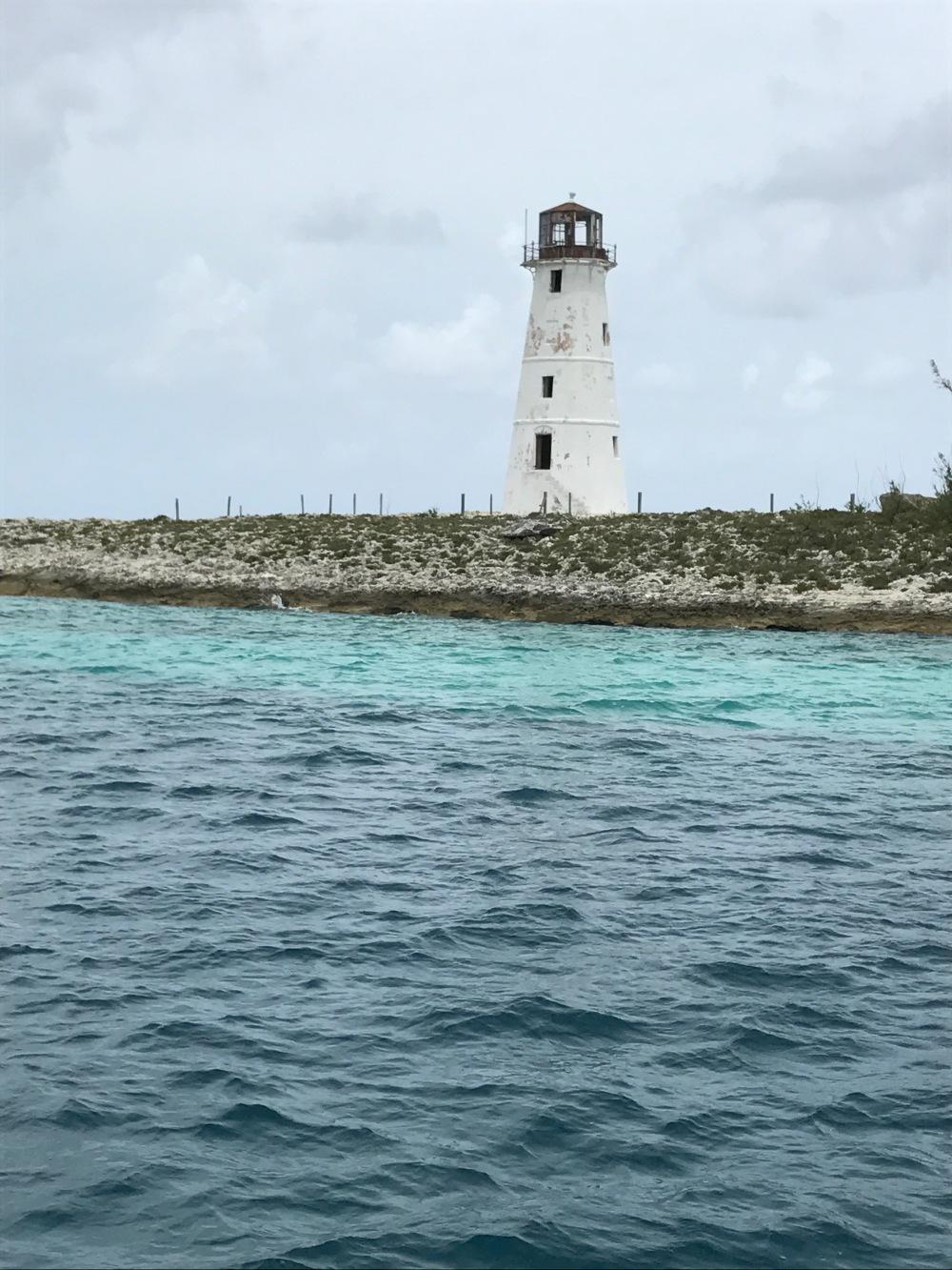 Hog Island Lighthouse, Bahamas