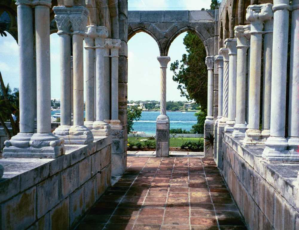 free things to do, The French Cloisters, Paradise Island, the bahamas