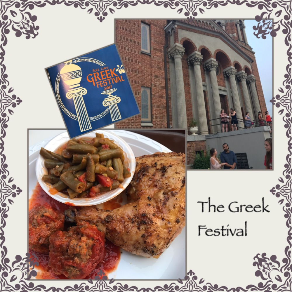 Greek Festival, SLC, Greece, food