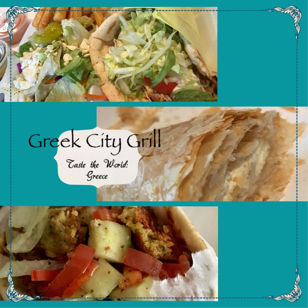 Greek City Grill, food, Greece